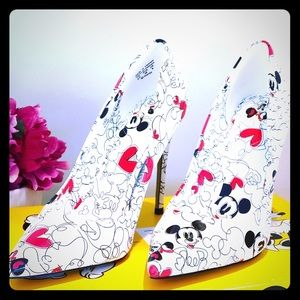 AlDO x DISNEY Mickey heels 8.5